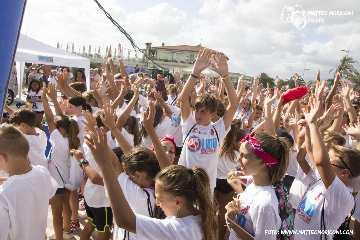 Lido COLOR & RUN, Musica e Tanto Divertimento (11 Agosto 2017) // Foto: www.matteomoriconi.com