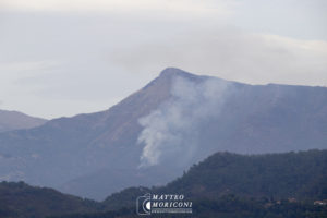 Incendio Camaiore - Monte Prana (31 Agosto 2017) // Foto: www.matteomoriconi.com
