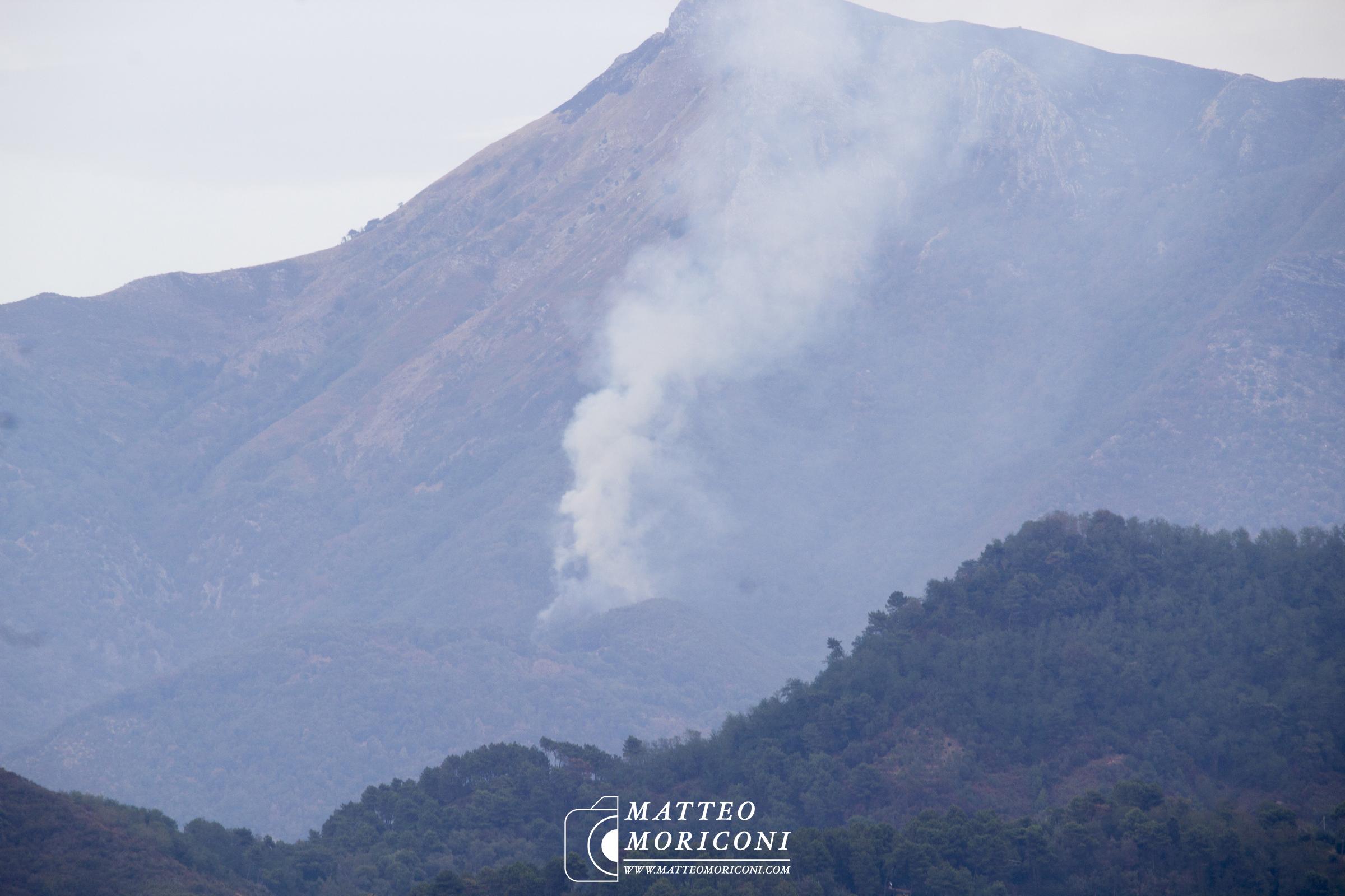 Incendio Camaiore - Metato (31 Agosto 2017) // Foto: www.matteomoriconi.com