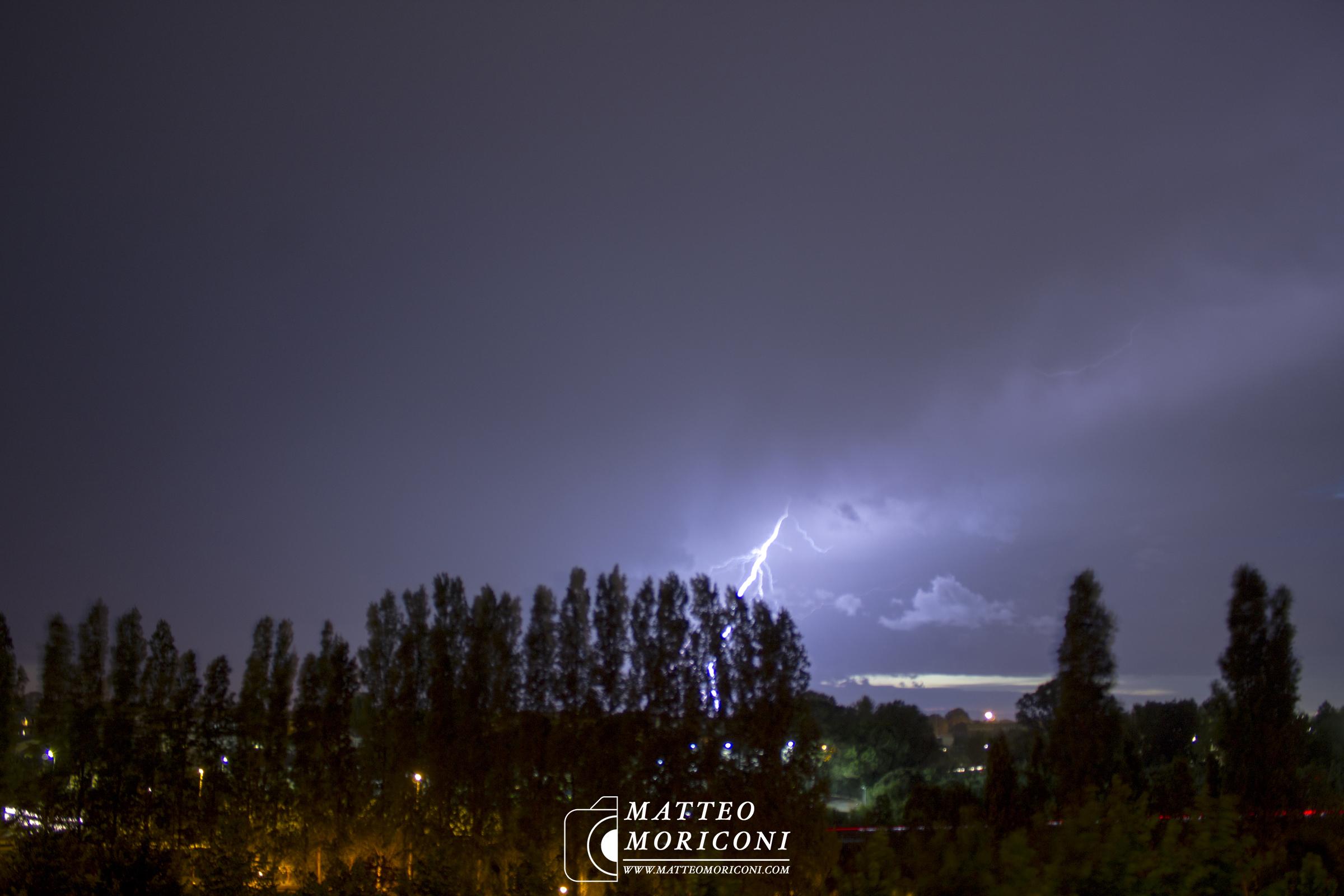 Temporali e Lampi in Versilia - 2 Settembre 2017 //  Foto: www.matteomoriconi.com