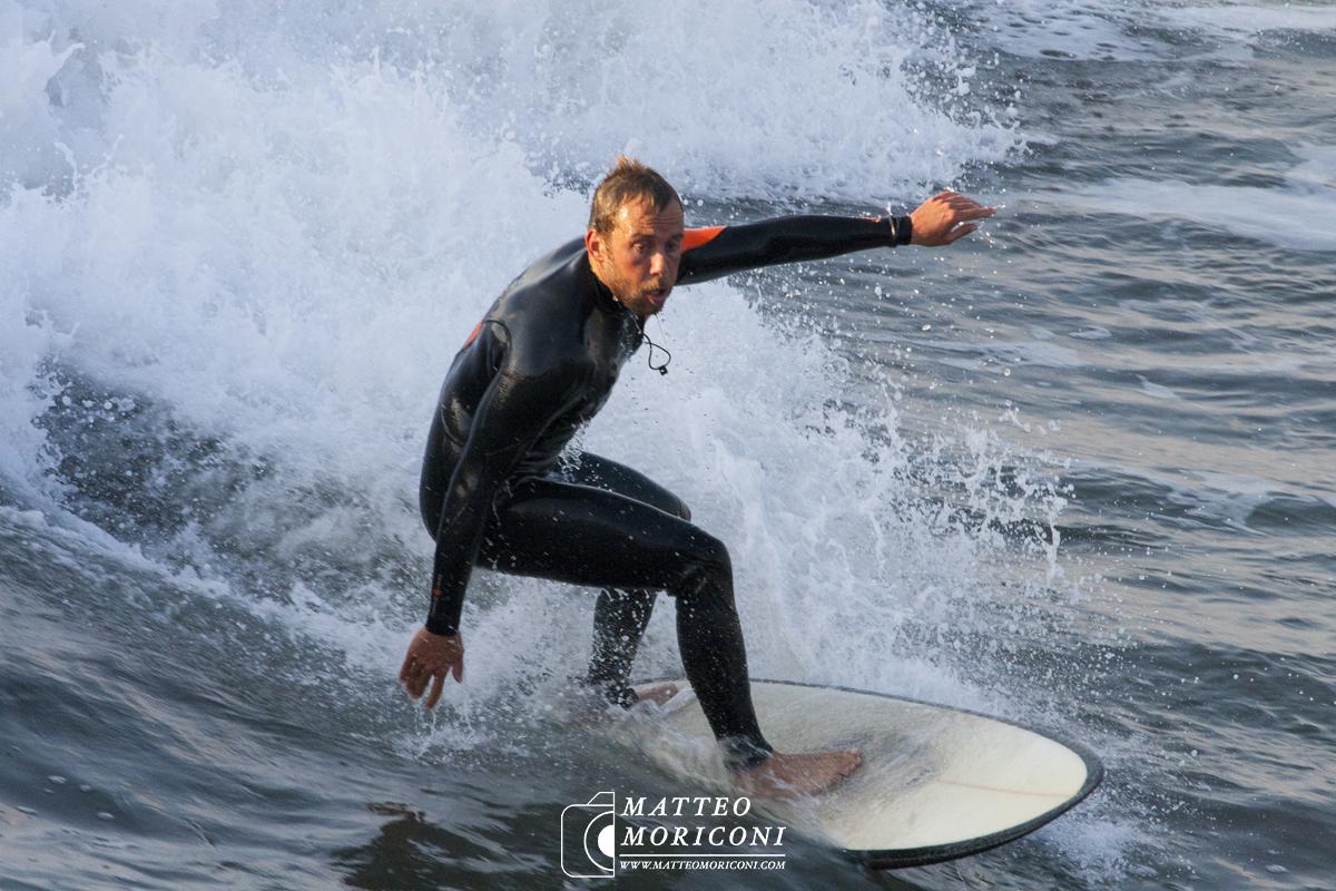 Pontile di Lido di Camaiore: Surf e Tramonto (30 Ottobre 2017) // Foto: www.matteomoriconi.com