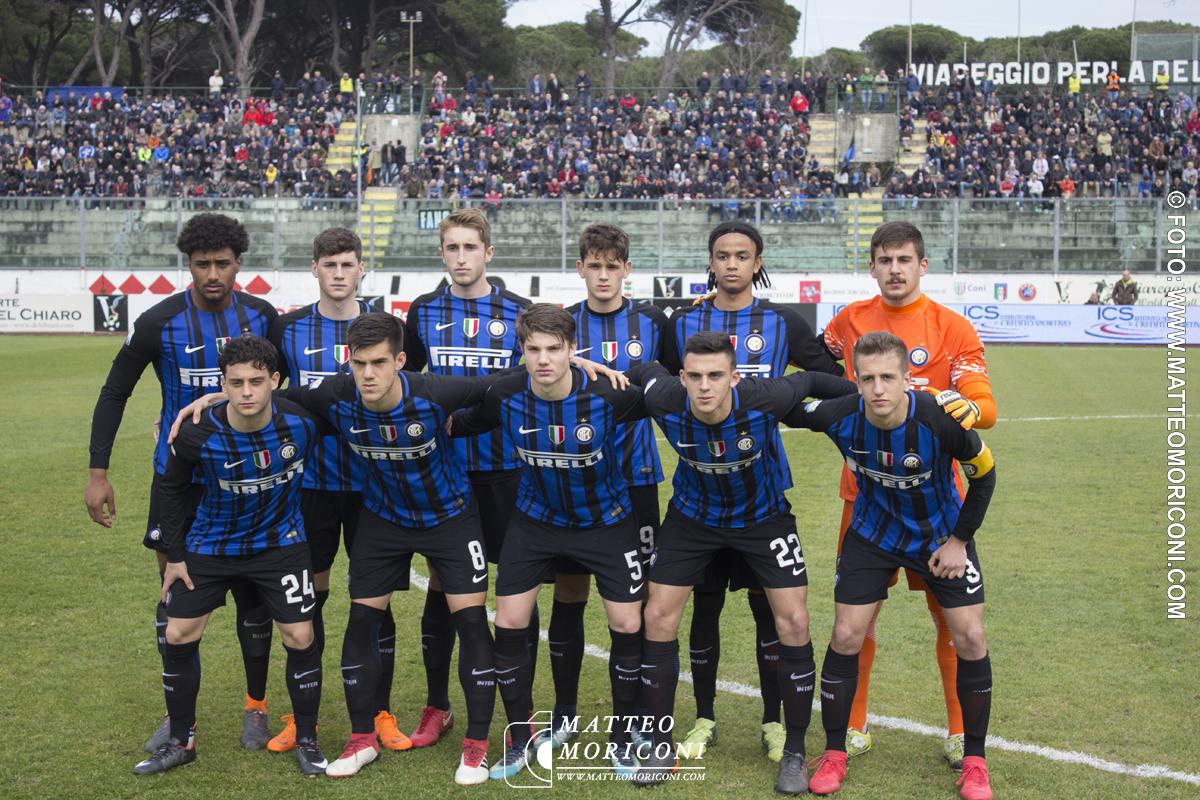 La formazione dell'Inter - Finale Viareggio Cup