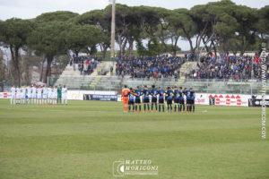 Il Minuto di silenzio a Centrocampo - Finale Viareggio Cup