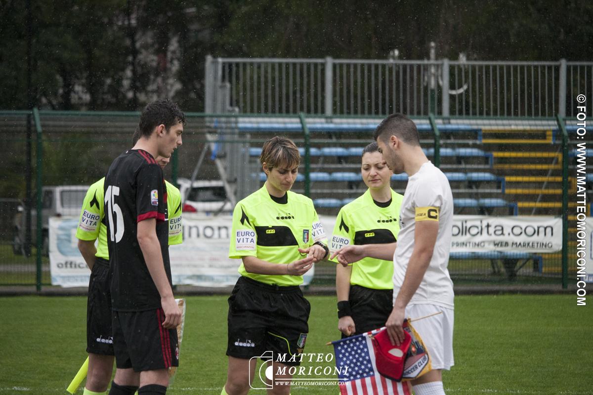70° Viareggio Cup: MILAN - U.Y.S.S. NEW YORK (18 Marzo 2018)