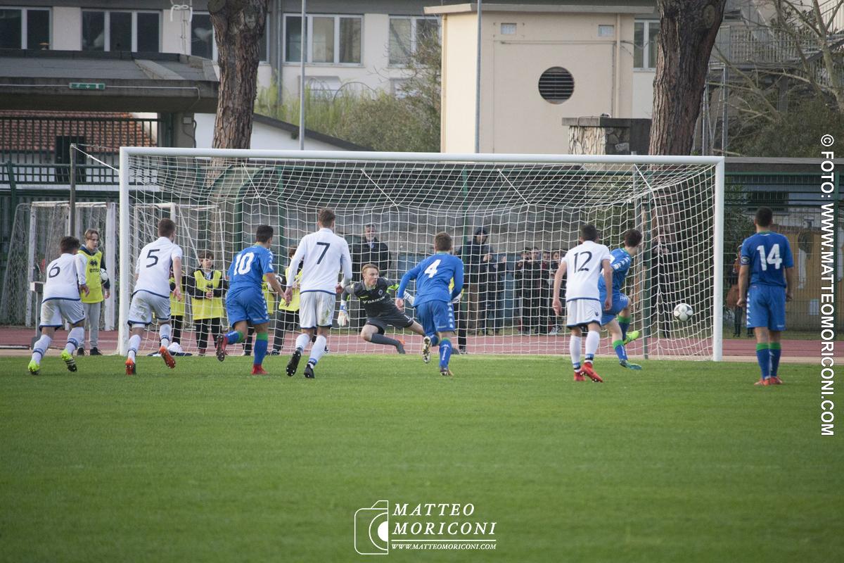 70° Viareggio Cup 2018: Inaugurazione e Partita: SASSUOLO e BRUGES // Foto: www.matteomoriconi.com