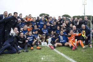 La formazione dell'Inter Vincitrice della finale della Viareggio Cup