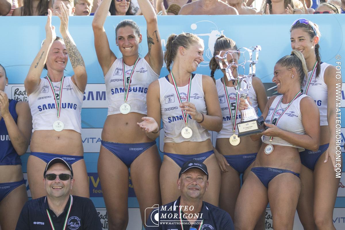 """Lido di Camaiore: """"Savino Del Bene Scandicci"""" vince la 20° Coppa Italia Sand Volley 4x4"""