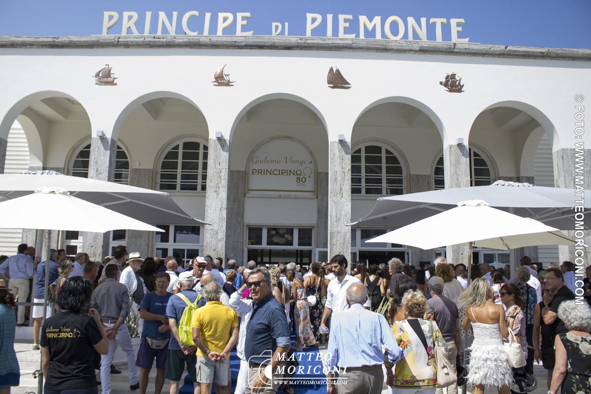 L'attesta dell'Apertura - Inaugurazione a Viareggio del nuovo Principe di Piemonte