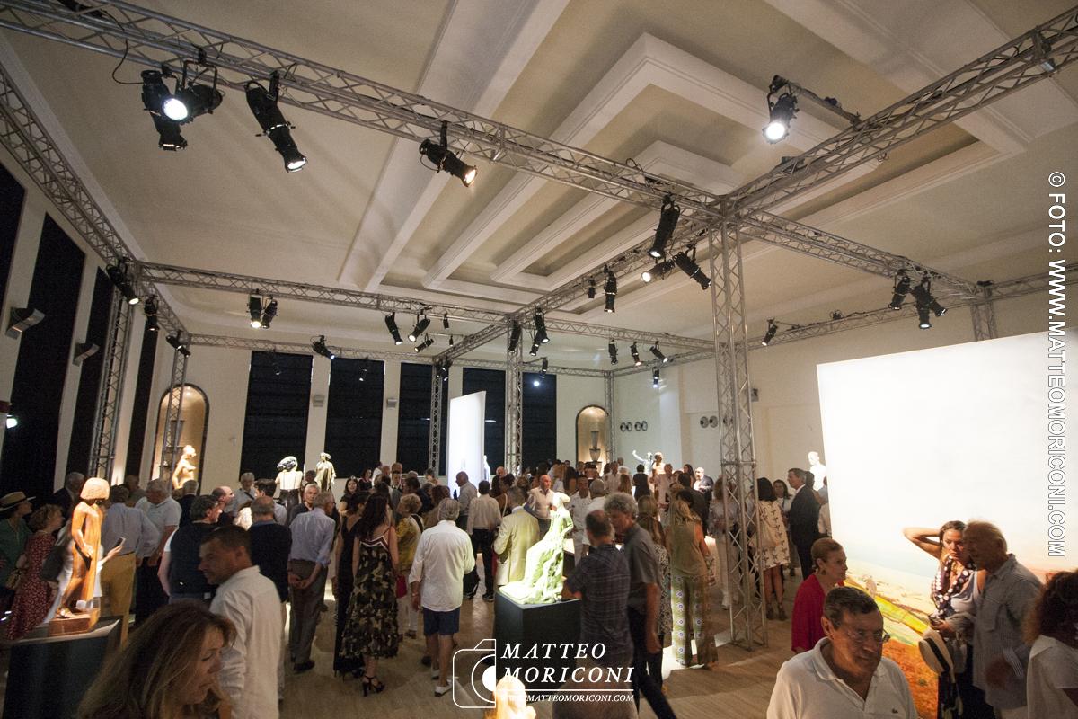 La Mostra di Vangi - Inaugurazione a Viareggio del nuovo Principe di Piemonte