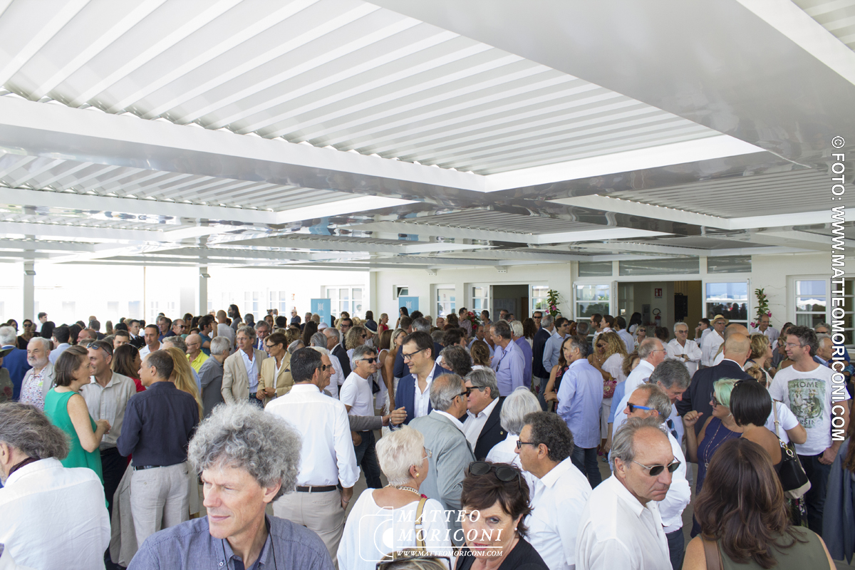 Inaugurazione a Viareggio del nuovo Principe di Piemonte