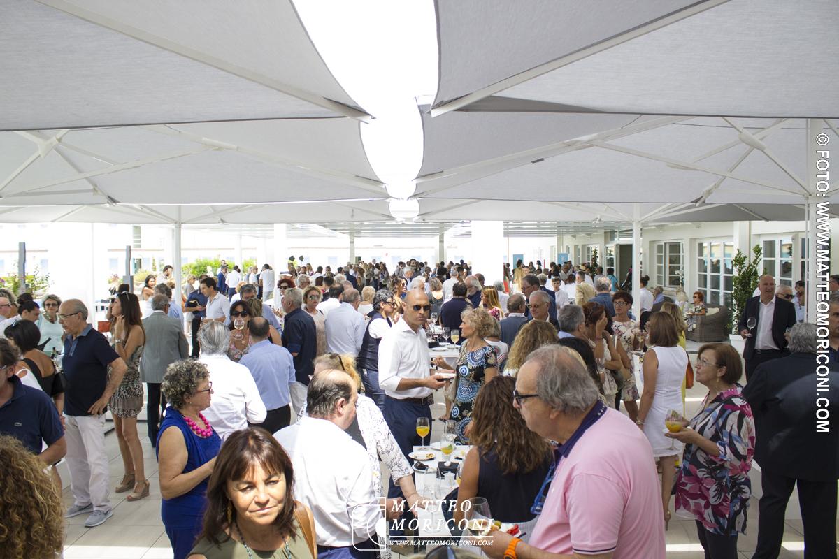 Il rinfresco - Inaugurazione a Viareggio del nuovo Principe di Piemonte