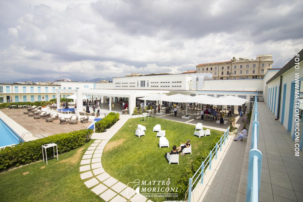 Vista struttura -  Inaugurazione a Viareggio del nuovo Principe di Piemonte
