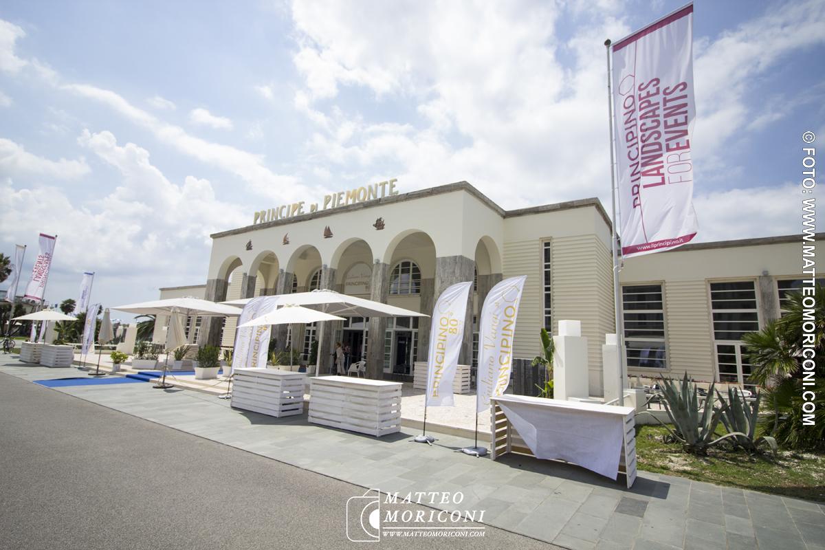 L'entrata -  Inaugurazione a Viareggio del nuovo Principe di Piemonte
