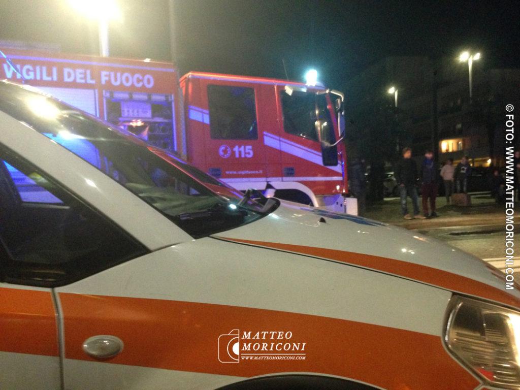 Viareggio, spettacolare incidente in zona Marco Polo - Sabato 2 Febbraio