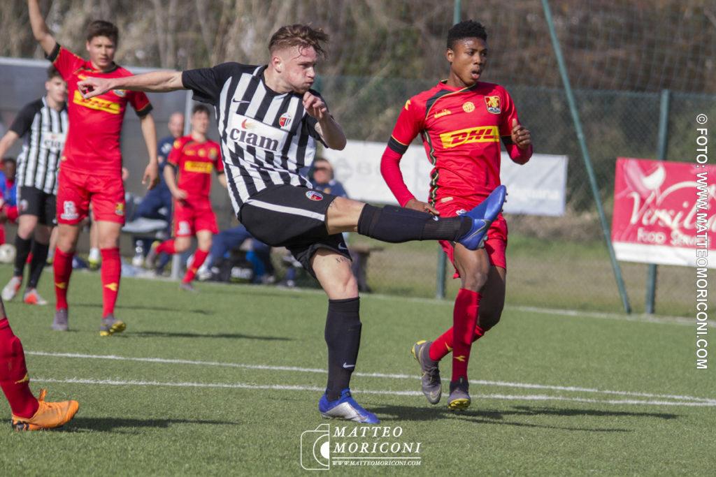 71° VIAREGGIO CUP: Nordsjaelland - Ascoli (15 Marzo 2019) - Il Goal del n. 7 Sarli dell'Ascoli