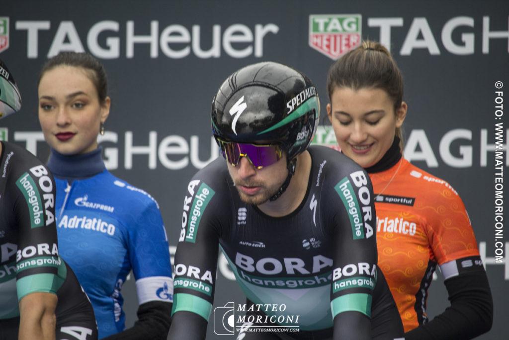 Tirreno - Adriatico 2019: Peter Sagan alla partenza della Prima Tappa a Lido di Camaiore - 13 Marzo 2019