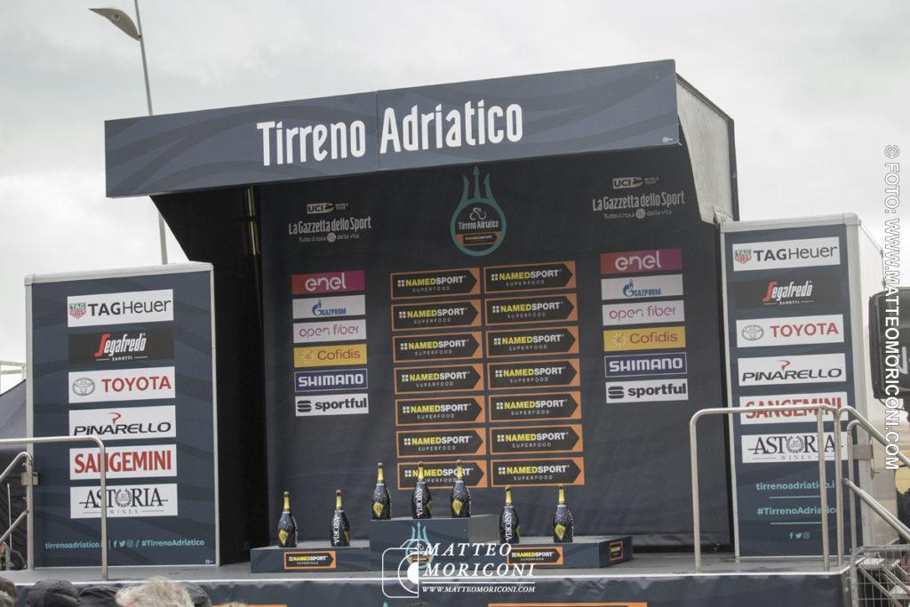 Tirreno - Adriatico 2019: Il Podio della Corsa - Prima Tappa a Lido di Camaiore - 13 Marzo 2019