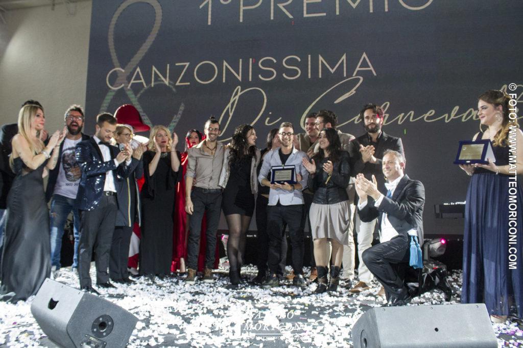 """Canzonissima di Carnevale 2019: Vincono il primo premio i """"Promises"""""""