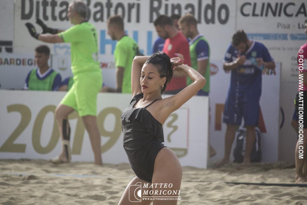Animazione - Serie Aon 2019: Vince il Viareggio Beach Soccer contro GLS Due Mari - Foto: www.matteomoriconi.com