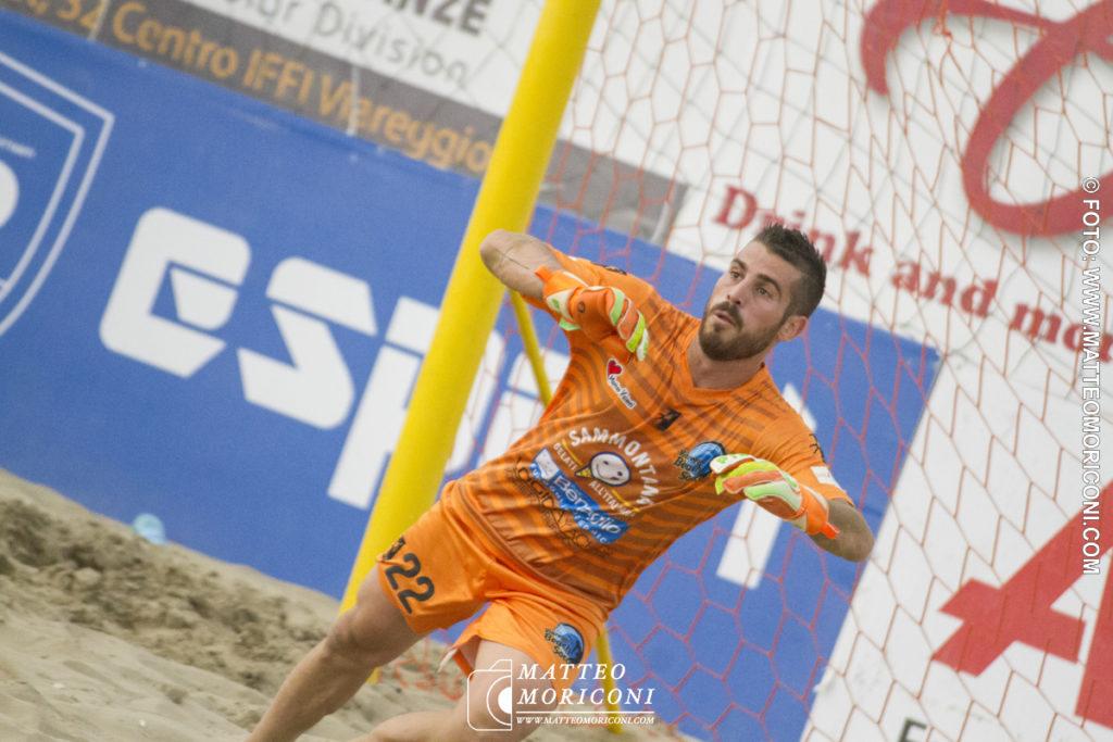 Gabriele D'onofrio Viareggio Beach Soccer - Serie Aon 2019: Vince il Viareggio Beach Soccer contro GLS Due Mari - Foto: www.matteomoriconi.com