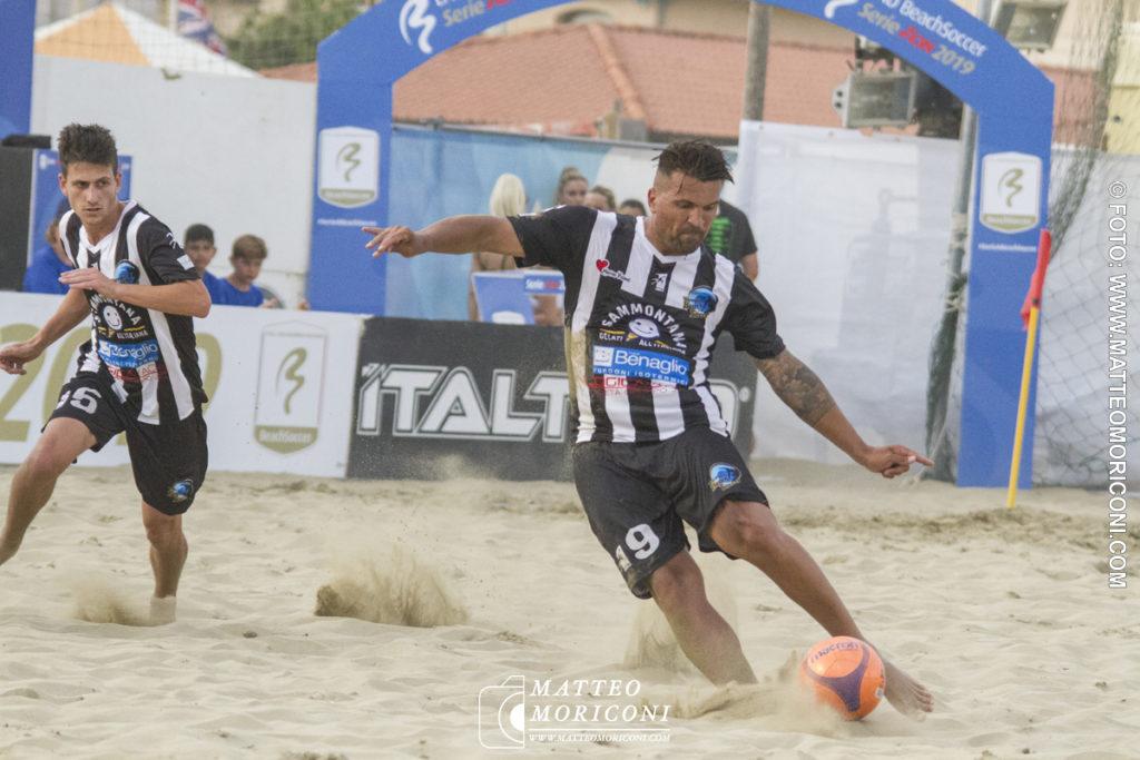 Dejan Stankovic - Serie Aon 2019: Vince il Viareggio Beach Soccer contro GLS Due Mari - Foto: www.matteomoriconi.com