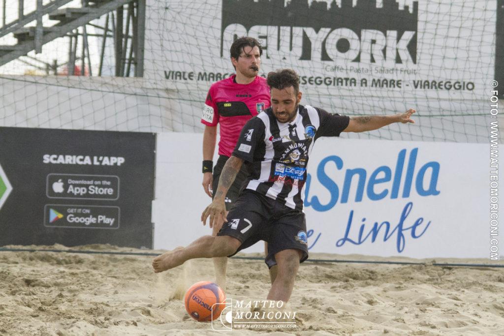 Carlo Capo Viareggio Beach Soccer - Serie Aon 2019: Vince il Viareggio Beach Soccer contro GLS Due Mari - Foto: www.matteomoriconi.com