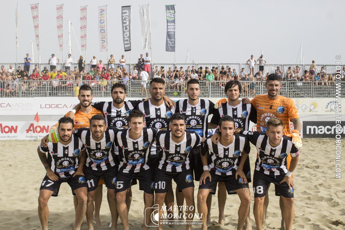 Formazione Viareggio Beach Soccer - Serie Aon 2019: Vince il Viareggio Beach Soccer contro GLS Due Mari - Foto: www.matteomoriconi.com