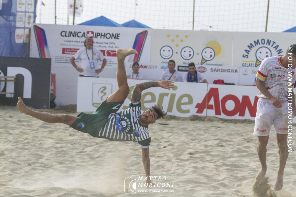 Serie Aon 2019: Il Viareggio Beach Soccer batte l'Ecosistem Catanzaro