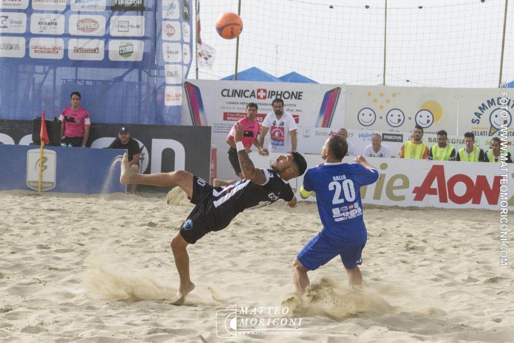 Gabriele Gori - Serie Aon 2019: Vince il Viareggio Beach Soccer contro GLS Due Mari - Foto: www.matteomoriconi.com
