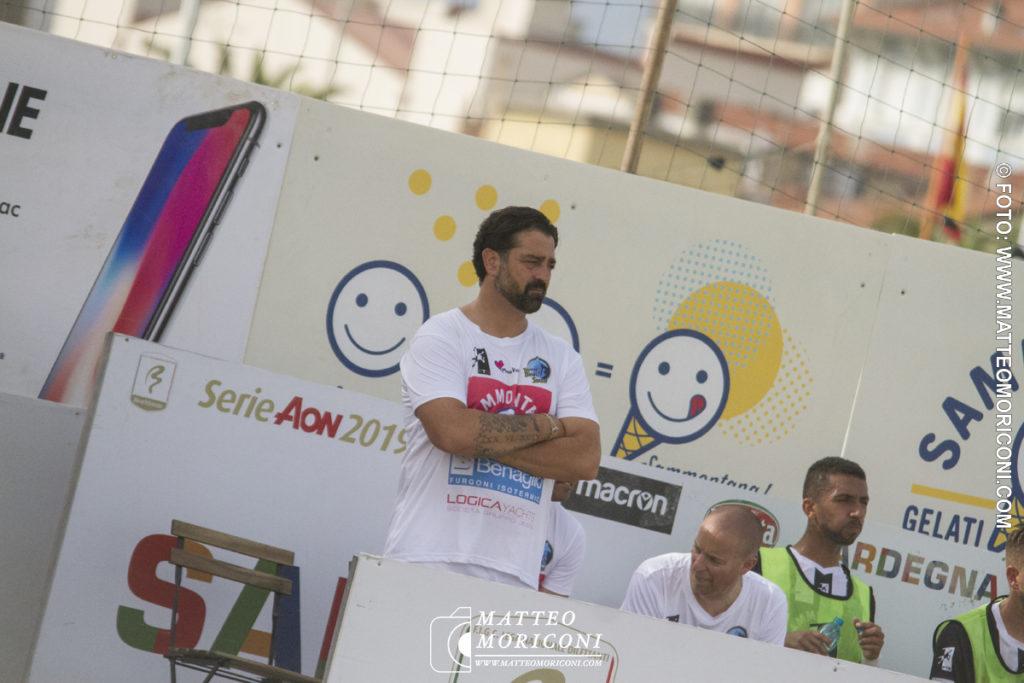 Stefano Santini Mister Viareggio Beach Soccer - Serie Aon 2019: Vince il Viareggio Beach Soccer contro GLS Due Mari - Foto: www.matteomoriconi.com
