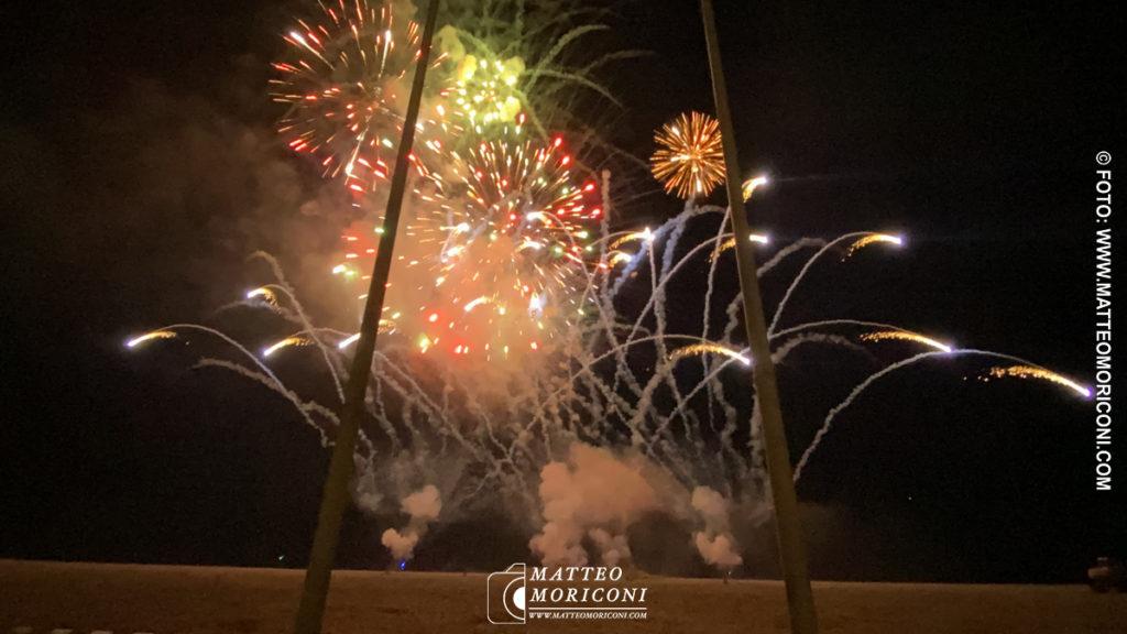 Spettacolo Pirotecnico - Carnevale di Viareggio 2020 - Giovedi 20 Febbraio