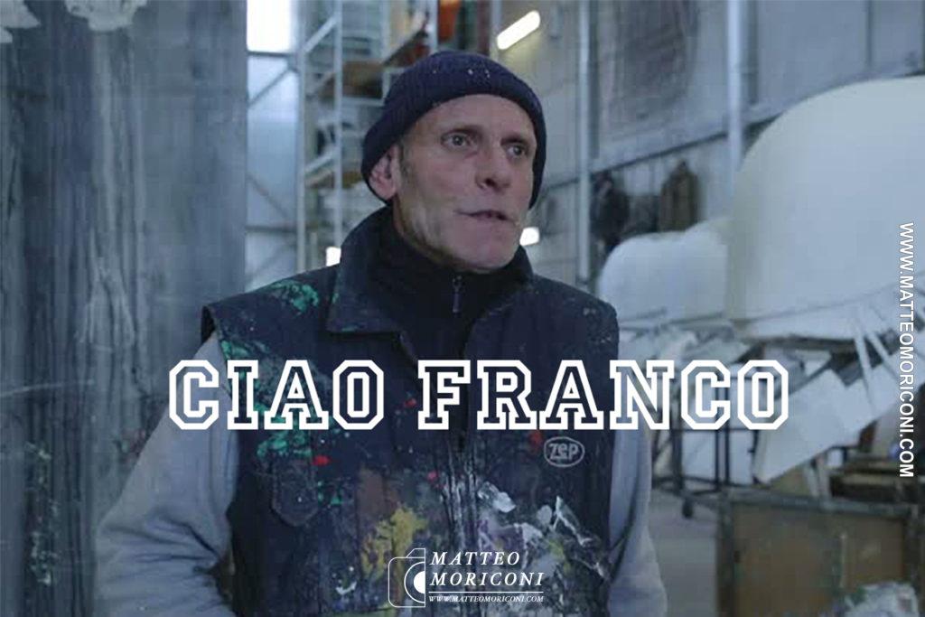 Martedì 1 Dicembre: Ci ha lasciato il Carrista Franco Malfatti