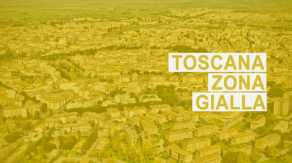 Toscana in Zona Gialla, ecco le novità del DPCM del 14 Gennaio
