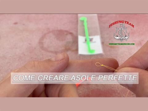 Come creare Asole Perfette - www.matteomoriconi.com