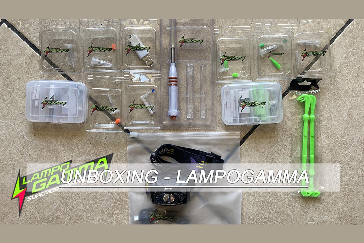 Unboxing – Lampo Gamma