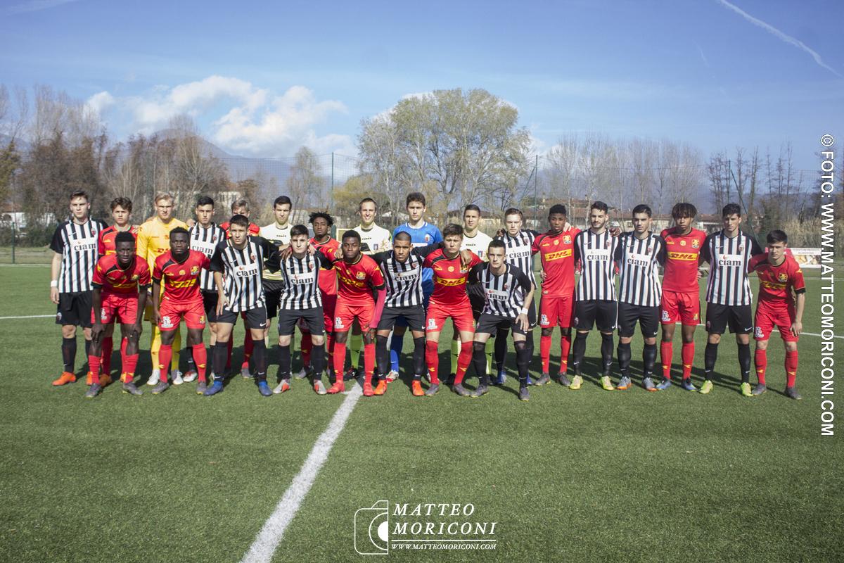 71° VIAREGGIO CUP: Nordsjaelland - Ascoli (15 Marzo 2019) - La Formazione del Nordsjaelland e dell'Ascoli Insieme