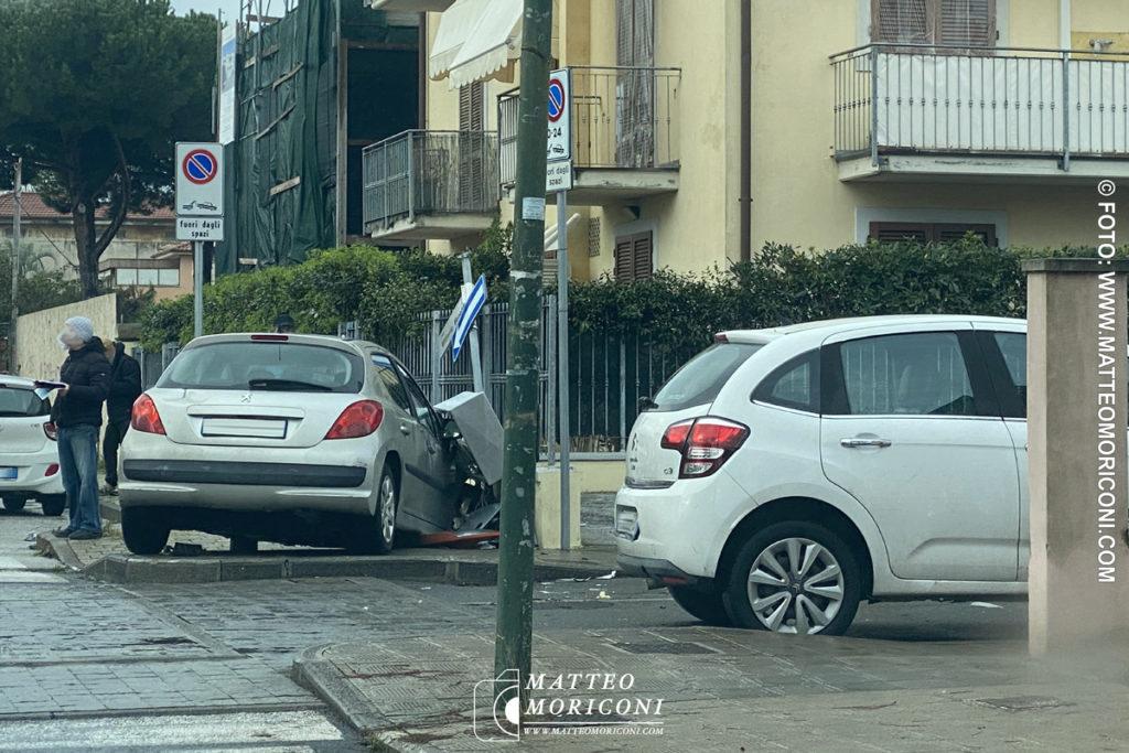 Incidente a Lido di Camaiore, tra Via Roma Capitale e Via Vittorio Veneto