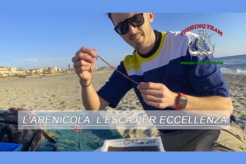 L'arenicola: L'esca per eccellenza