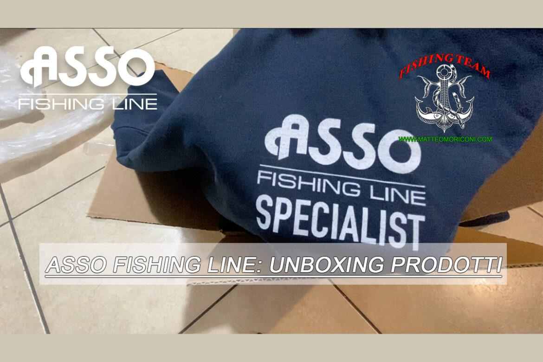 Asso Fishing Line: Unboxing prodotti